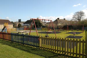 picture of the play area